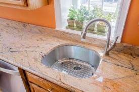 D-Shaped Kitchen Sink